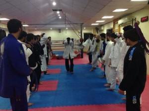 Blue belt promotion